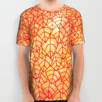 Autumn foliage All Over Print Shirt by Savousepate