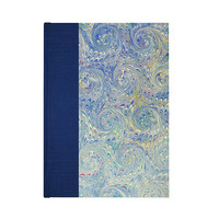 Journal Blank Paper Blue Shell