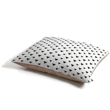 Allyson Johnson Upside Down Triangles Pet Bed