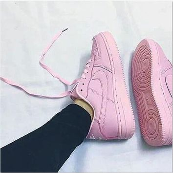 Nike Dunk Low Help Trending New Style Women Shallow Pink Sport Flat Shoe Sneakers I