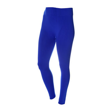 Fleece Lined Leggings, Cobalt