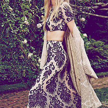 For Love & Lemons Womens Ethereal Maxi Set