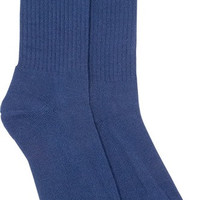 Diamond Brilliance High Socks Heather Navy 1 Pair