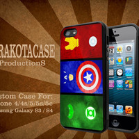 green lantern captain america ironman hard palstic for iphone and samsung galaxy