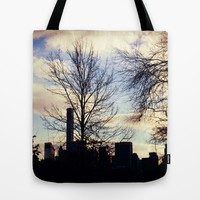 Central Park Tote Bag by Haroulita | Society6
