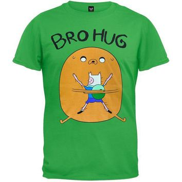 PEAPGQ9 Adventure Time - Bro Hug T-Shirt