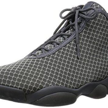 Nike Jordan Mens Jordan Horizon Wolf Grey/White/Dark Grey Basketball Shoe 8.5 Men US