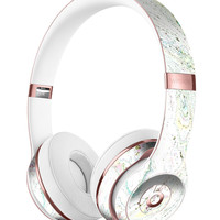 Dotted Mixtured Textured Marble Full-Body Skin Kit for the Beats by Dre Solo 3 Wireless Headphones