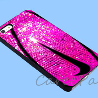 Nike just do it Basketball gold glitter Case for iPhone 4/4S/5/5S/5C, Samsung Galaxy S3/S4, iPod Touch 4/5, htc One x/x+/S