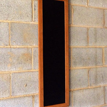 vintage wood framed chalkboard rustic office home kitchen beach decor