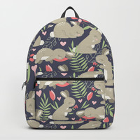 Bunny Garden Backpack by Noonday Design