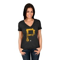 Majestic Pittsburgh Pirates Keep Advancing Tee - Women's