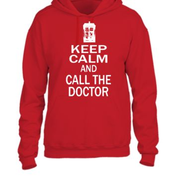 keep calm and call doctor - UNISEX HOODIE