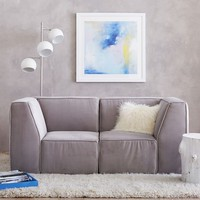 "Riley Lounge Loveseat Set (63"")"