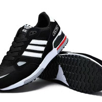 """Adidas "" Sport Casual Multicolor Stripe Unisex Sneakers Couple Running Shoes"
