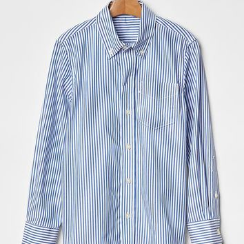 Gap Boys Stripe Oxford Shirt