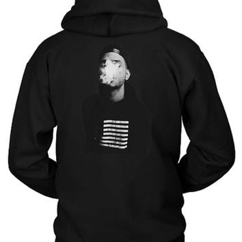 Bryson Tiller Cover Smoke Hoodie Two Sided
