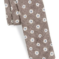 Men's BOSS Floral Pattern Tie