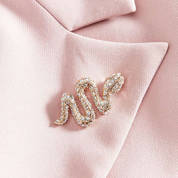 Snake Brooch | Urban Outfitters