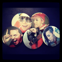 G-Dragon Pinback Buttons (Big Bang - Made to Order)