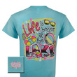 Girlie Girl Originals Life Is Better At The Lake Bright T Shirt