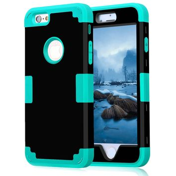 for apple iphone 7 case shockproof protect hybrid hard rubber impact armor phone cases for iphone 5 5s 5c se 6 6s plus 7 cover
