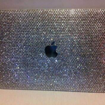 Bling Clear crystal laptop cover fr Macbook 13 by Crystaljam