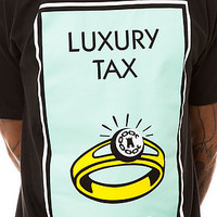 Crooks and Castles Tee Taxin in Black