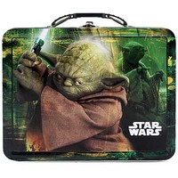 Star Wars Yoda Embossed Metal Lunch Box
