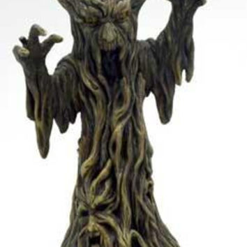 """11"""" Scary Tree Incense Holder"""
