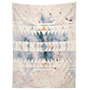 Caleb Troy arctic gold tribal Tapestry
