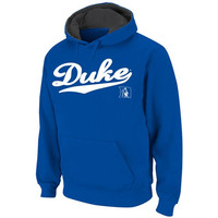 Duke Blue Devils Duke Blue Twill Script Hooded Sweatshirt