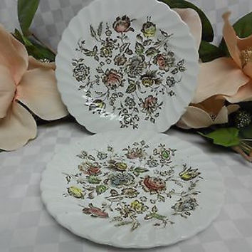 Johnson Brothers, England Ironstone Staffordshire Bouquet 2 bread plate