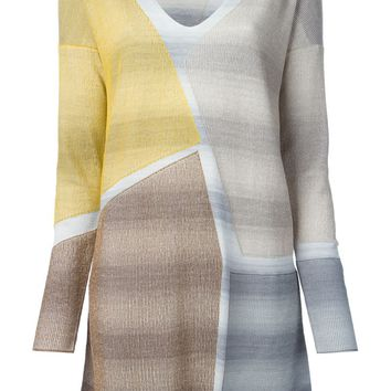 Missoni panelled knit dress