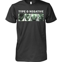 Type o negative funny t-shirt for adults unisex