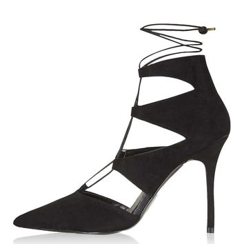 GLOSS Ghillie Court Shoes - Topshop