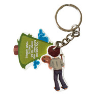 Bob Ross - This Is Your World Keychain