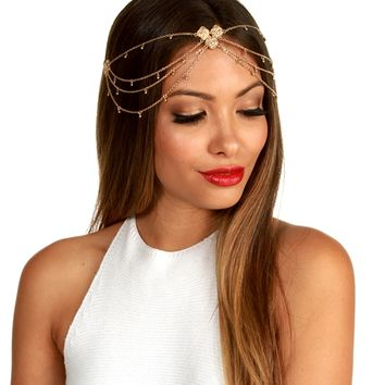 Gold Gypsy Head Chain