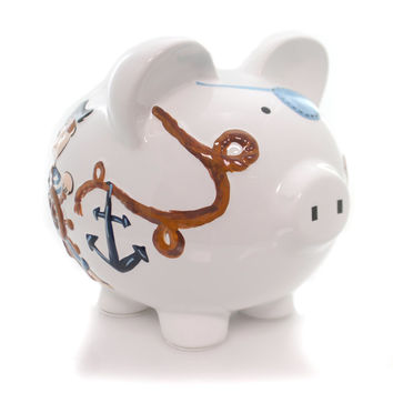 Bank Pirate Piggy Bank Bank