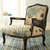 "French Laundry Home-""La Jolla"" Chair-Horchow"