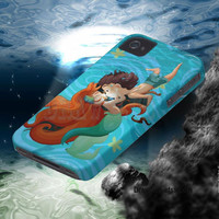 IPhone5 IPhone4 IPhone4S Case - Little Mermaid case By Drawclub Free Shipping and Sale  for summer time (only1-30 april)