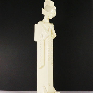 Wright Midway Sprite Hand Cast Resin Sculpture