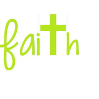 Faith Christian Decal - Faith Car Sticker