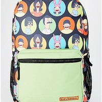 Belcher Family Circle Backpack - Bob's Burgers - Spencer's