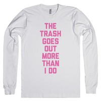 Trash Out-Unisex White T-Shirt