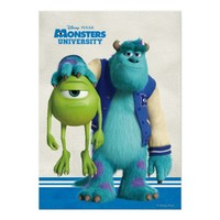 Sulley Holding Mike Poster from Zazzle.com