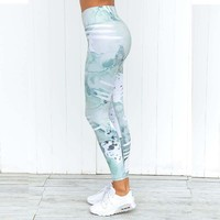 Women  Running Tights Gym Leggings Widen  Sport