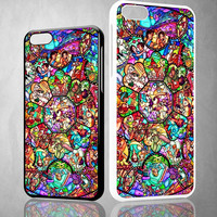 DISNEY ALL CHARACTERS V0094 iPhone 4S 5S 5C 6 6Plus, iPod 4 5, LG G2 G3 Nexus 4 5, Sony Z2 Case