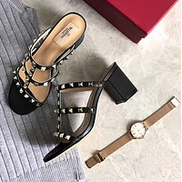 shosouvenir (Valentino) Ankle high heel shoes