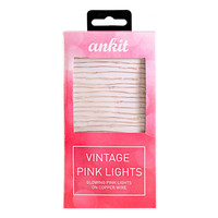 Vintage Pink String Lights